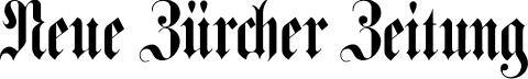 Neue Züricher Zeitung Logo